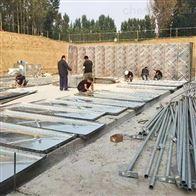 地埋水箱张家口地埋式消防一体化泵站完成