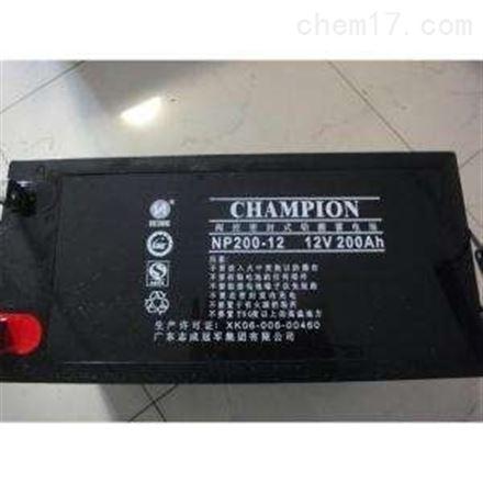 冠军NP系列蓄电池