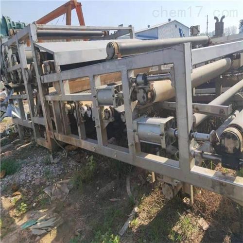 闲置滤带污泥脱水机