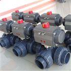Q614S/Q615S气动塑料三通球阀