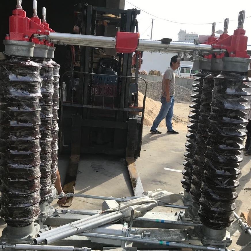 分合闸35KV户外高压隔离开关GW4-40.5厂家