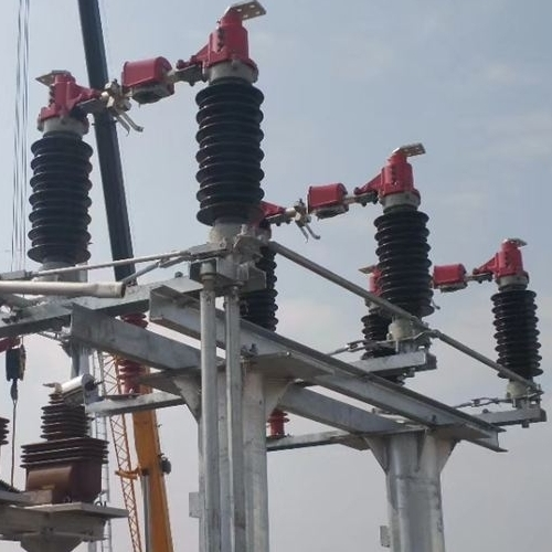 国网厂家直销GW4-35KV柱上高压隔离开关