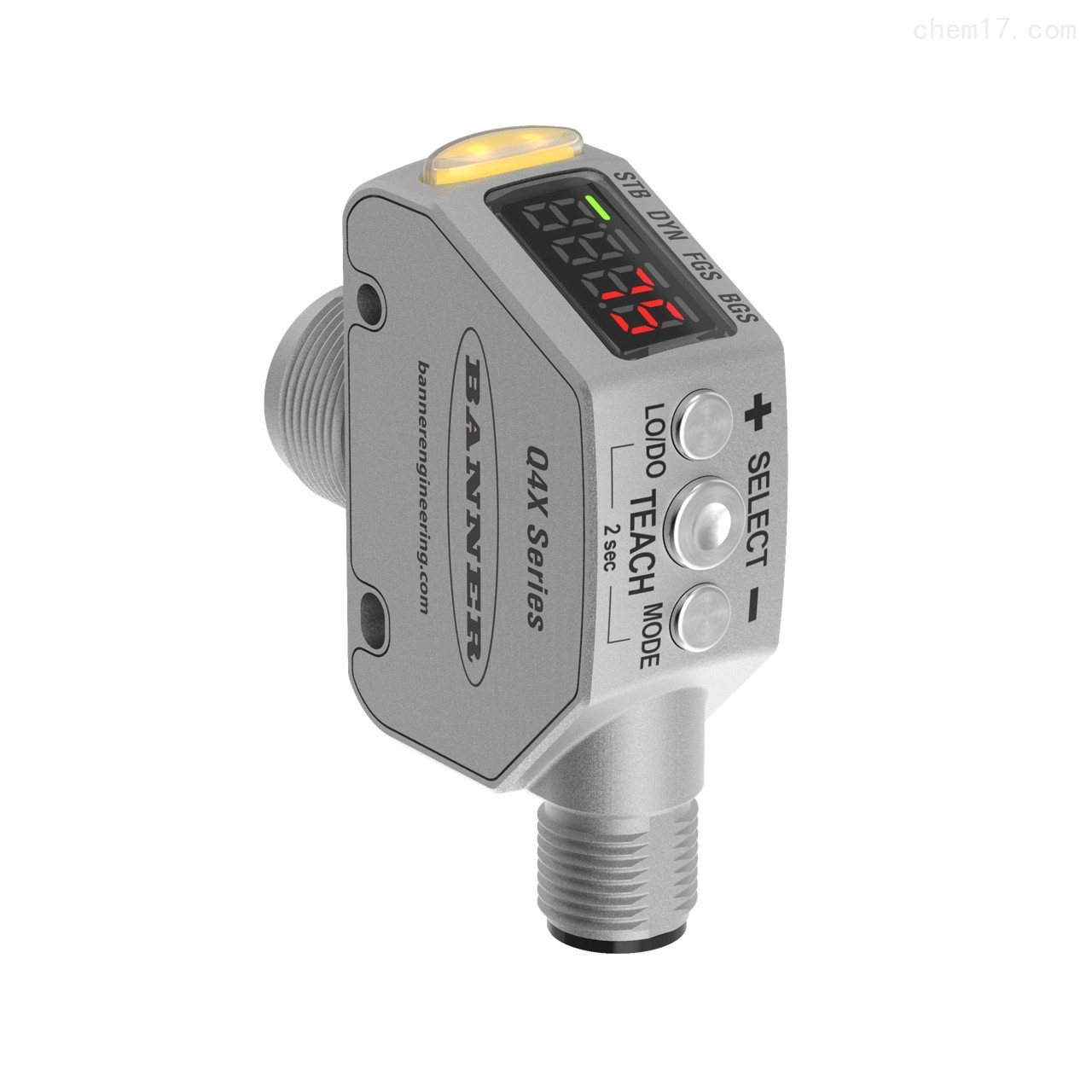 BANNER邦纳坚固的激光距离传感器