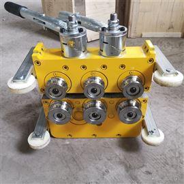 430型铝镁锰板电动锁边机