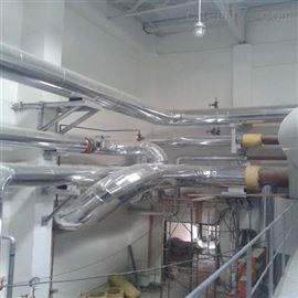 天津泵房管道保温岩棉管壳施工