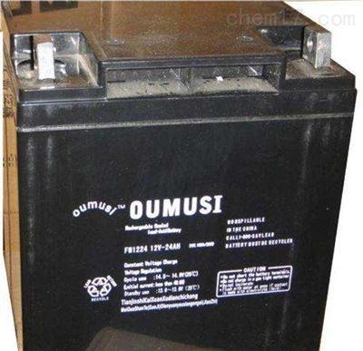 12V7AH至12V100AH原装进口欧姆斯蓄电池