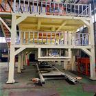山东模压水泥基匀质板生产线设备结构布局