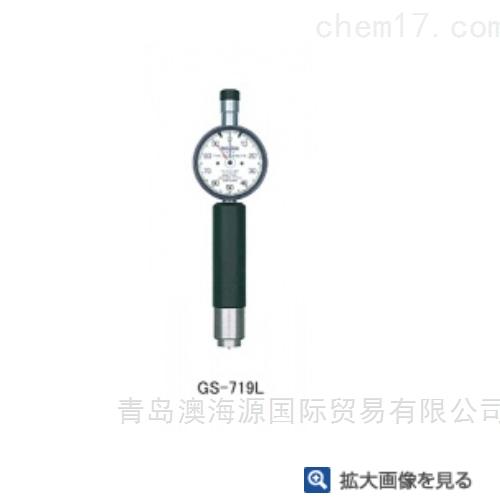 日本TECLOCK得乐橡胶/塑料硬度计GS-720H/L
