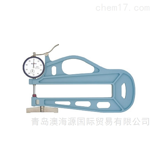 日本TECLOCK得乐恒压测厚仪SM-1201厚度规