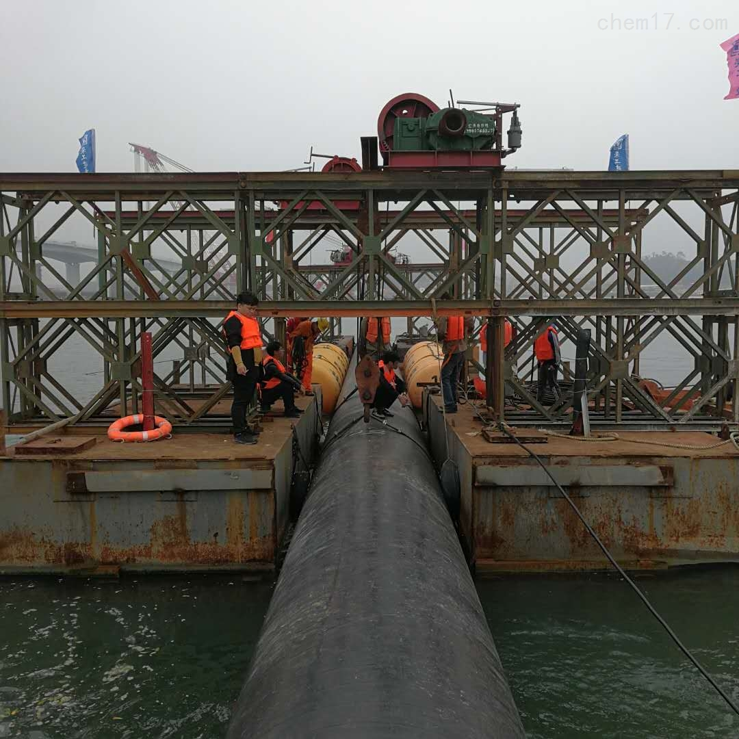 沉管工程公司-浮运沉管施工供水管道