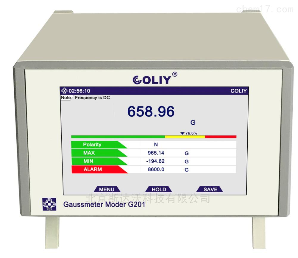 台式单维高斯计G201/ G401  高精度磁场分析