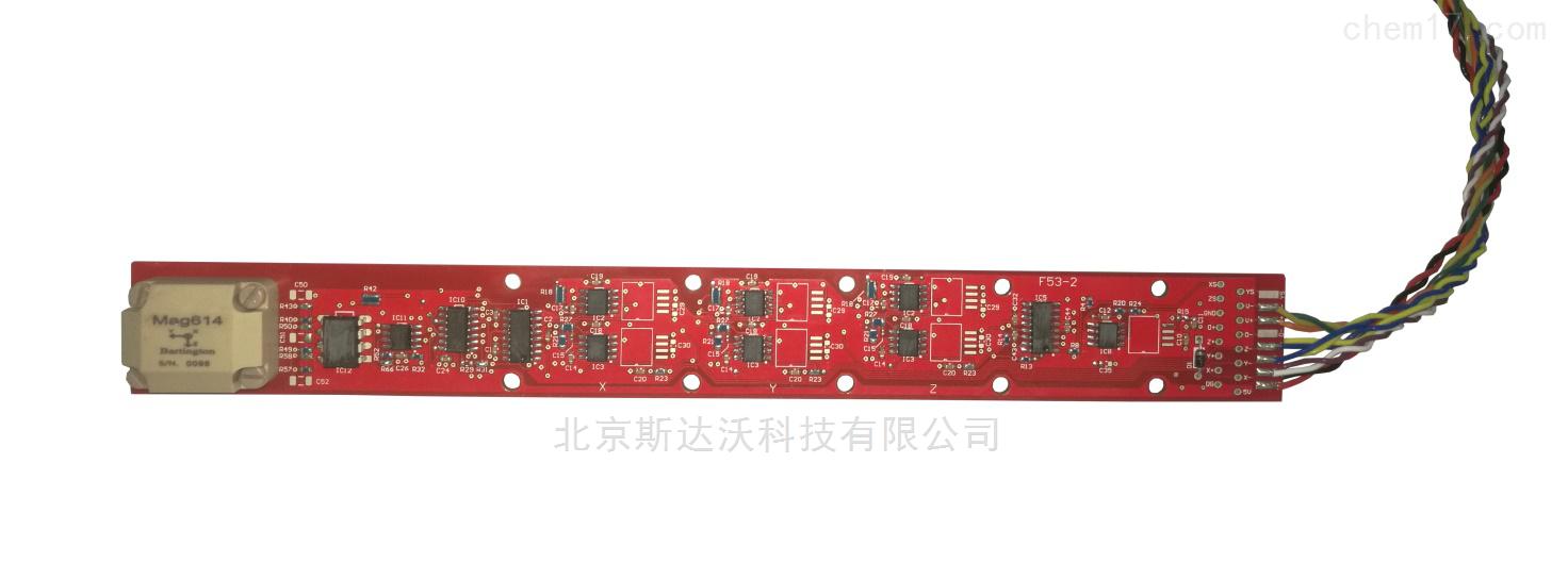 高温型三维磁通门传感器 F53  磁场分析