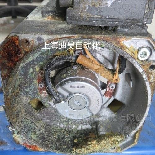 西门子伺服电机流水线圈接地维修