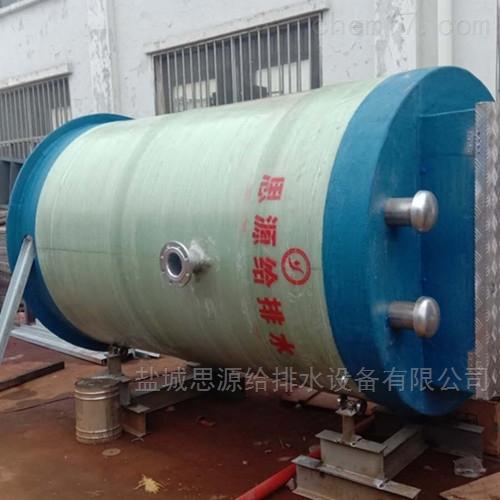 芜湖预制式一体化雨水泵站厂家