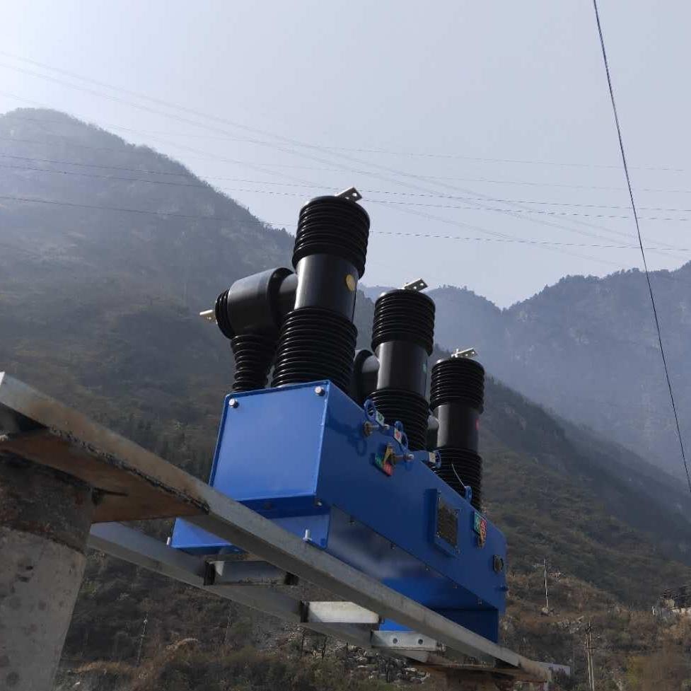 四川德阳35千伏手动智能高压断路器安装
