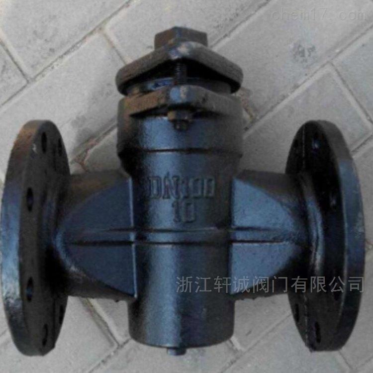 X43T二通铜芯旋塞阀