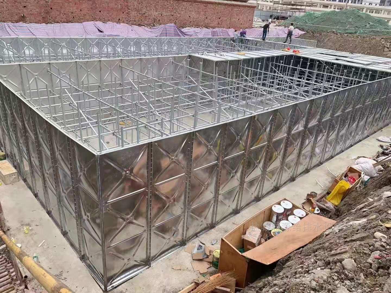 地埋式消防一体化水箱