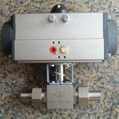 Q661F-320P DN20气动高压球阀