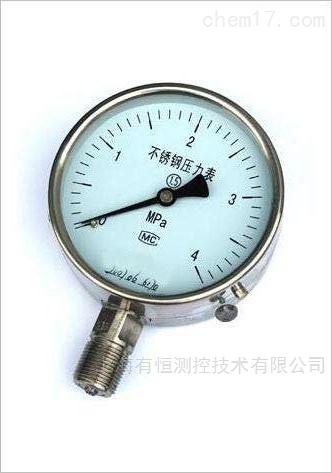 Y-100不锈钢压力表