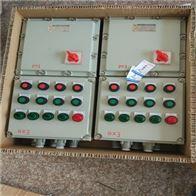 BXMD非标铸铝12回带总开漏电防爆动力配电箱