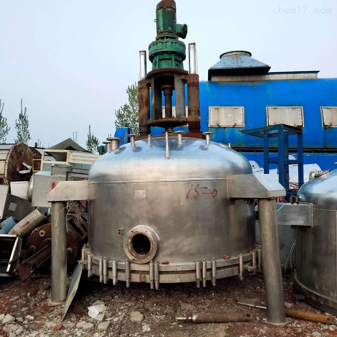 高价回收二手三合一洗涤过滤干燥机