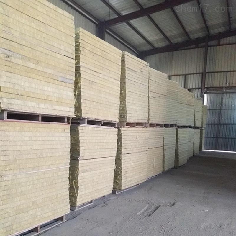 加工外墙保温插丝岩棉板一体板