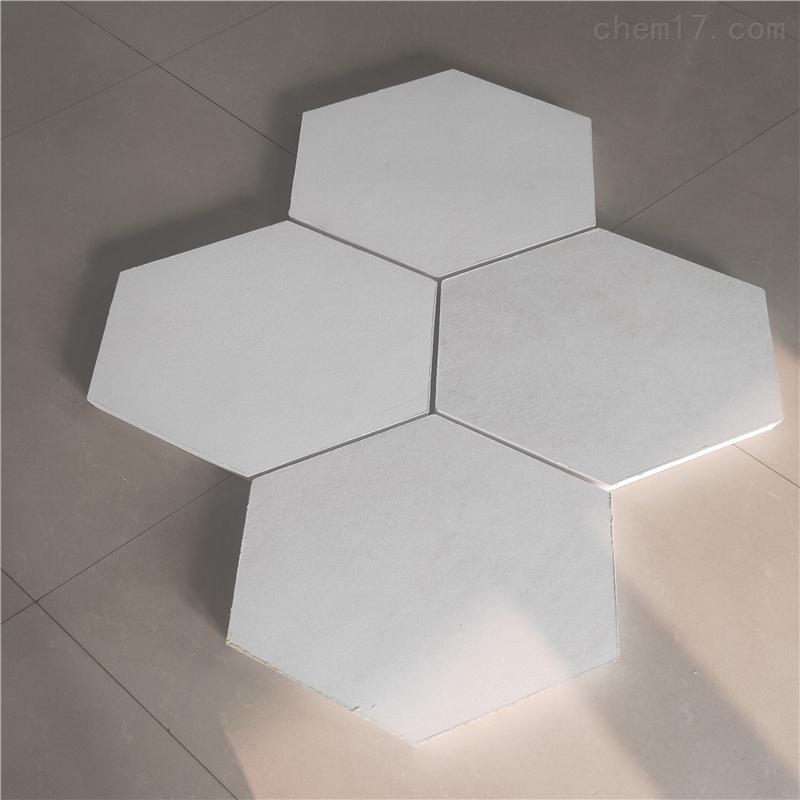 悬挂六边形玻纤吸音天花板