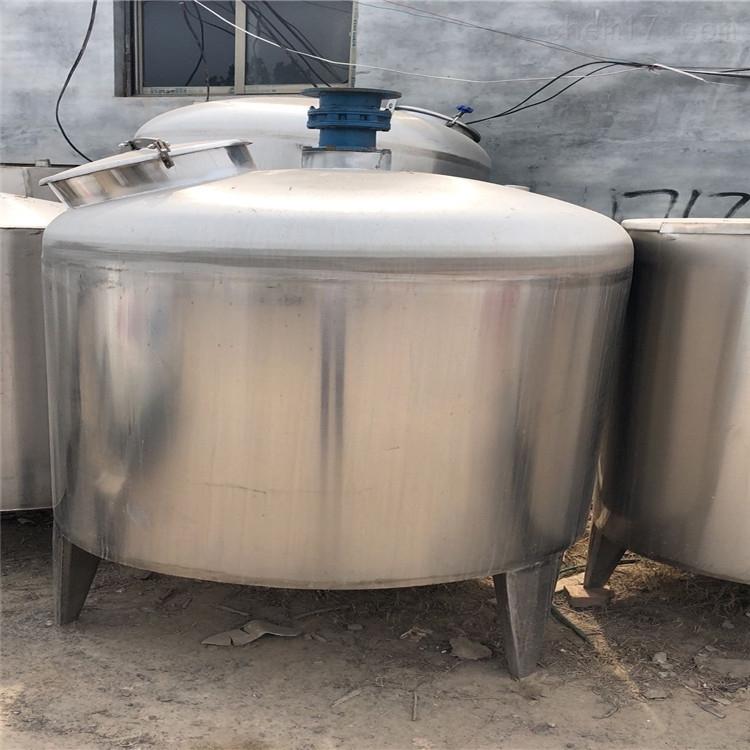 处理一批闲置二手不锈钢储罐