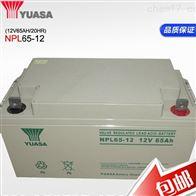 NPL65-12汤浅储能蓄电池NPL65-12授权