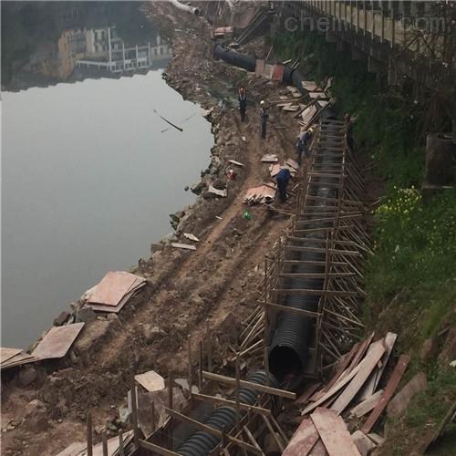南充市取排水管道水下安装公司-沉管