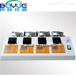四联数显磁力搅拌器