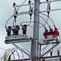 智能带隔离ZW32-10kv双PT高压真空断路器