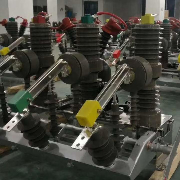 双PT高压断路器zw32-12侧装式属性图片