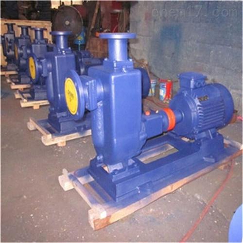 ZW型自吸式排污泵厂家