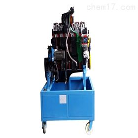 YUY-JP0184东风EQ1118G发动机解剖模型(柜式底座)