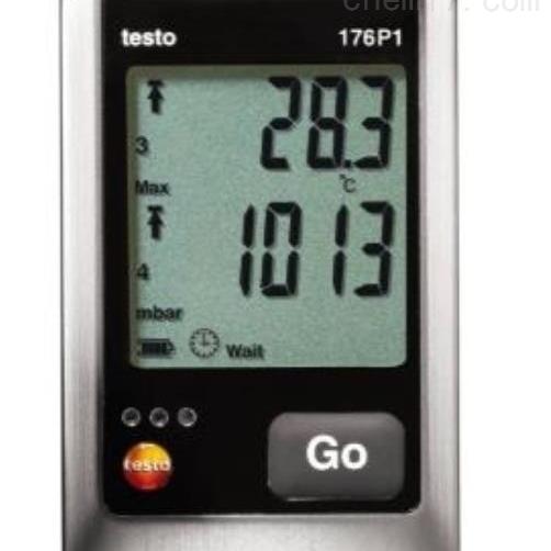 testo 176 P1 - 温湿度及压力记录仪