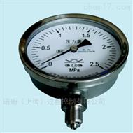 YTN/YTHN/YTH布莱迪外卡式全不锈钢防腐/耐震/一般压力表