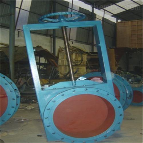 不锈钢LC-I圆形手动插板阀