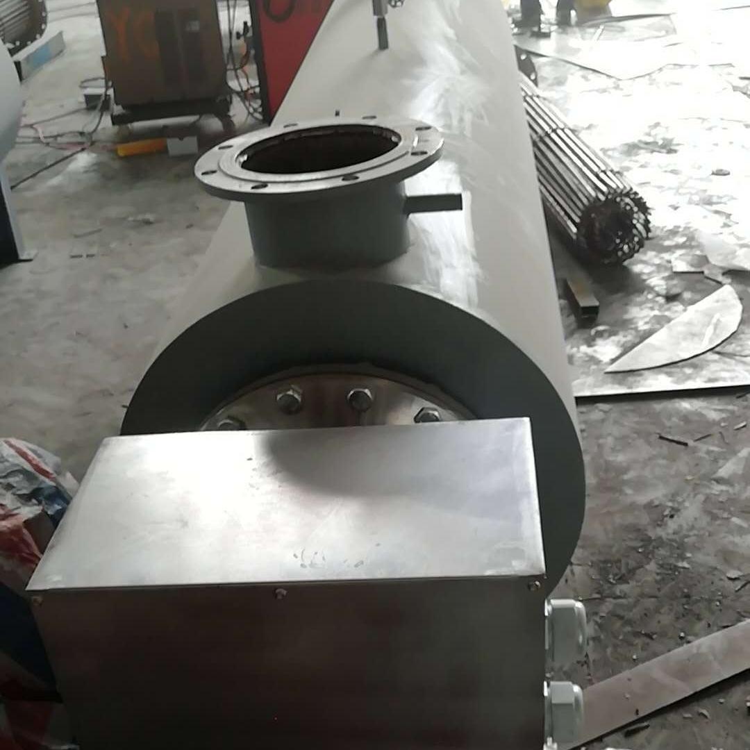 防爆熔喷布空气电加热管道加热器