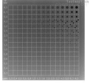 CDRAD2.0 乳腺低对比度细节模体