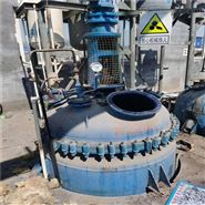 公司闲置转让5立方搪瓷反应釜