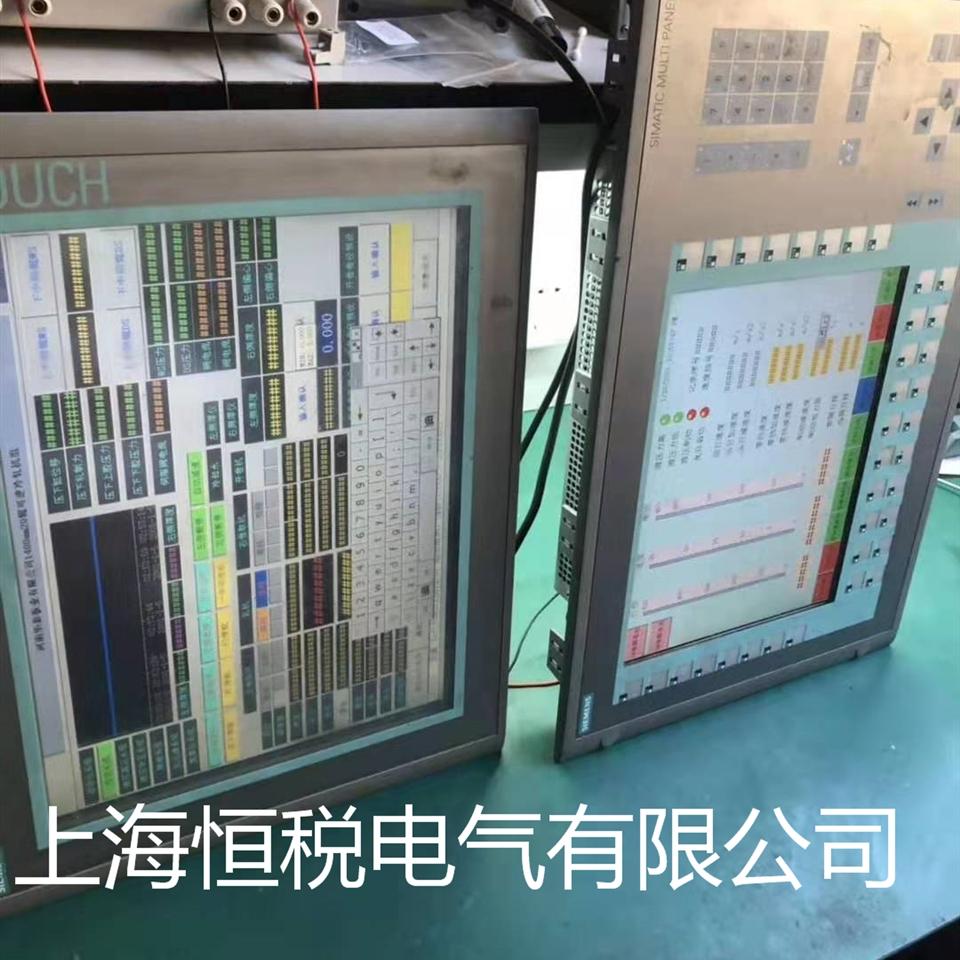 西门子触摸屏进不去系统界面维修中心