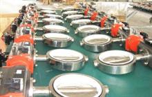 D671Si气动对夹式硅胶密封卫生级蝶阀