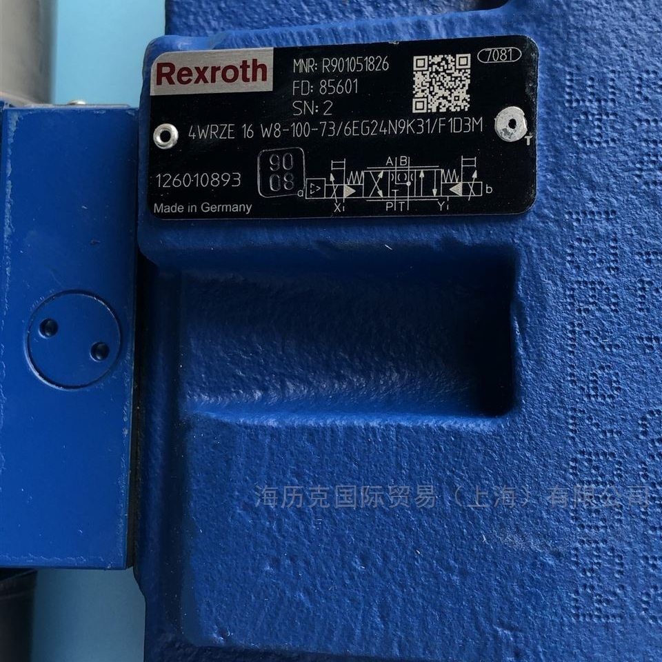 Rexroth力士乐R901014937比例方向阀现货
