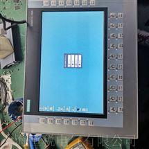 SIEMENS修复专家西门子触摸屏所有按键都不灵故障维修教程