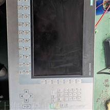 SIEMENS售后维修西门子触摸屏所有按键无反应当天修好故障