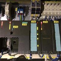 西门子PLC317开机所有灯全都不亮维修电话
