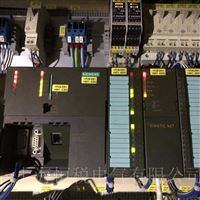 西门子S7-300PLC模块状态灯一个都不亮修复