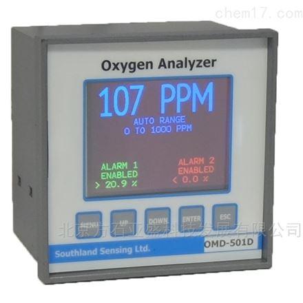 产品氮、粗氩塔口微量氧分析仪