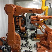 ABB机器人示教器开机进不去系统界面维修